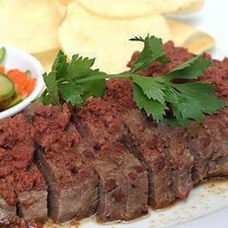 Thịt bò sốt pate