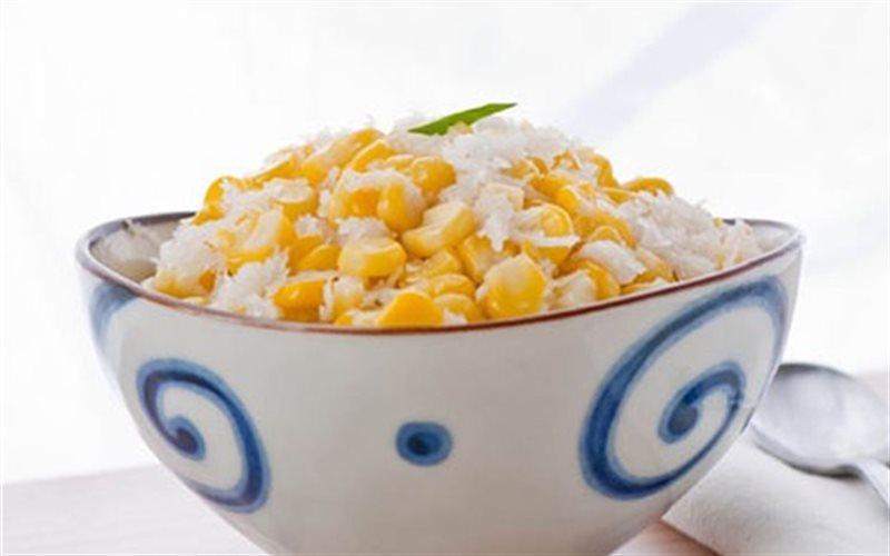 Cách Làm Bắp Chiên Dừa Giòn Béo Cho Bé Ăn Vặt