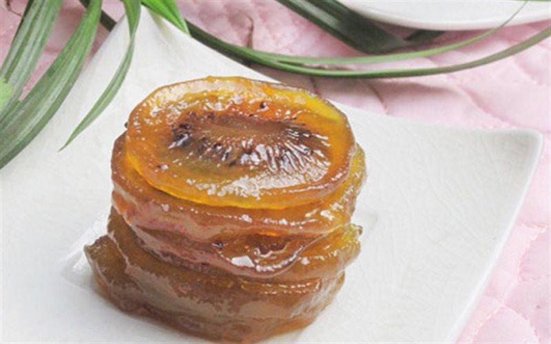 Cách làm mứt kiwi chua ngọt