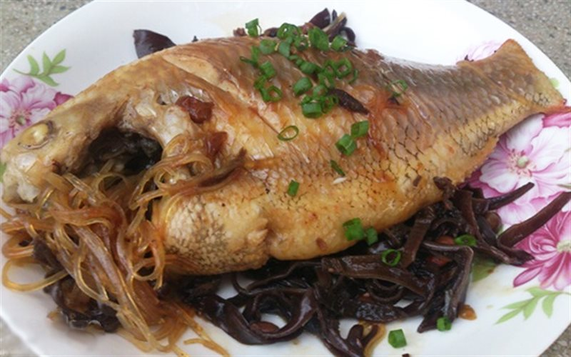 Cách làm Cá Diêu Hồng Hấp Tương Hột đậm đà hương vị