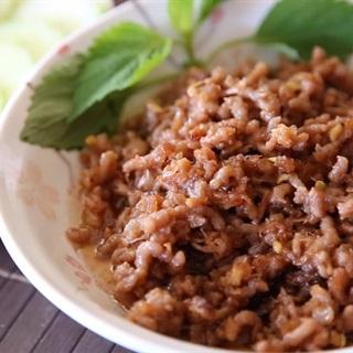 Cách Làm Mắm Tép Chưng Thịt Băm Ngon Miệng Tại Nhà