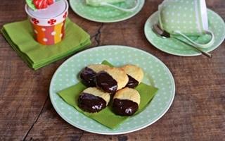 Bánh quy bơ dừa chocolate