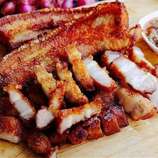 Cách làm thịt chiên nước mắm kiểu Thái