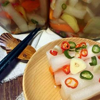 Cách làm củ cải ngâm chua ngọt