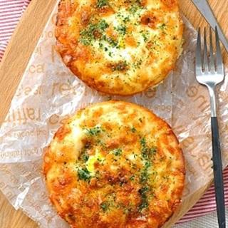 Cách làm Bánh Trứng Phô Mai với sốt Mayonnaise béo thơm