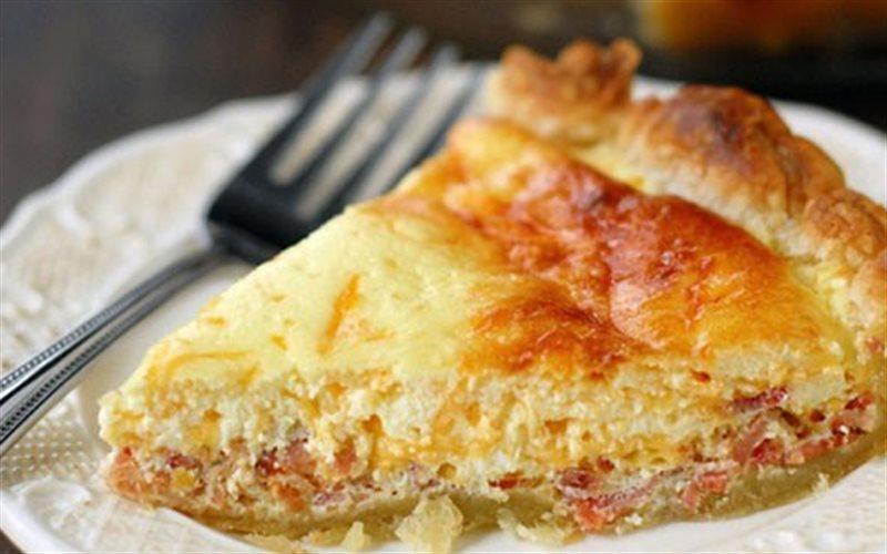 Cách làm Bánh Phô Mai Thịt Xông Khói hấp dẫn mời gia đình