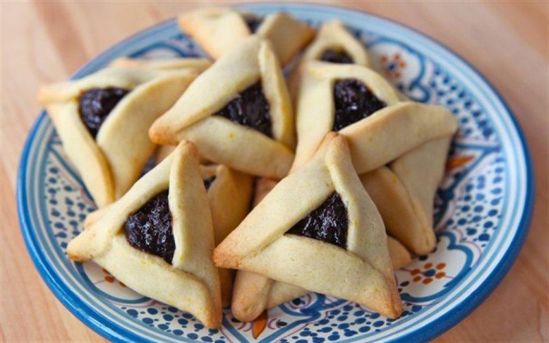 Cách làm Bánh Quy Nhân Mứt Hình Tam Giác ngon miệng cả nhà
