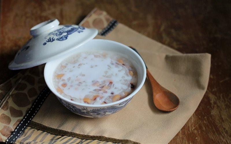 Cách làm Chè Đậu Trắng Nấu Nếp đơn giản mà cực ngon lành