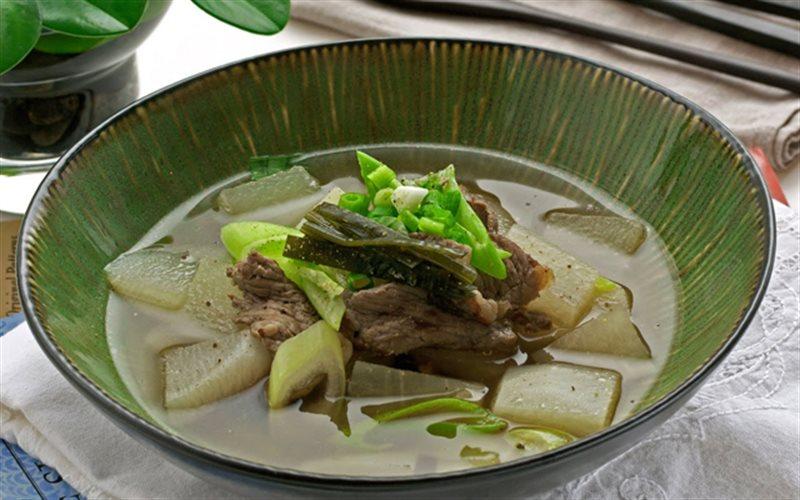 Cách nấu Canh Củ Cải Thịt Bò thanh mát, cực bổ dưỡng