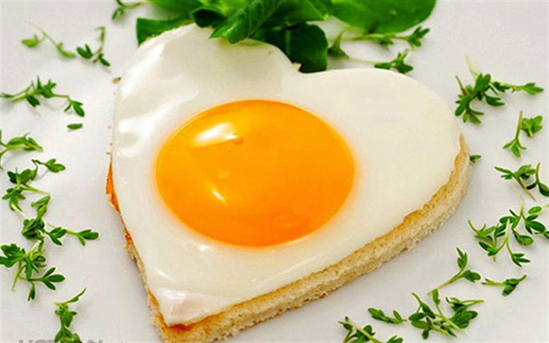 Cách Làm Trứng Ốp La Hình Trái Tim Đẹp Không Nỡ Ăn