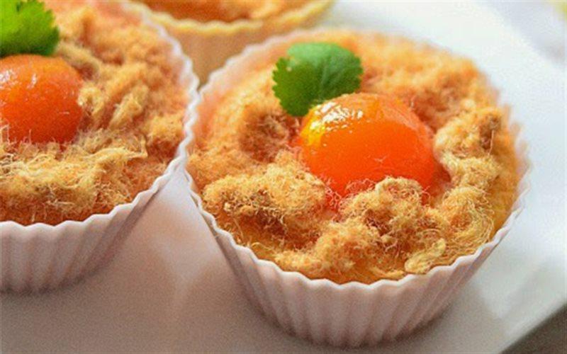 Cách Làm Cupcake Bông Lan Trứng Muối Béo Thơm
