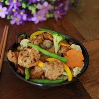 Cách làm chả cá xào rau nấm