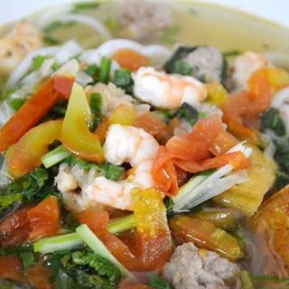 Cách nấu Bún Mọc Tôm Thịt thơm ngon đãi cả nhà cuối tuần