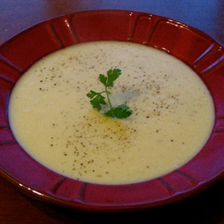 Cách làm súp khoai tây mịn
