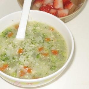 Mì Udon nấu nước súp rau củ