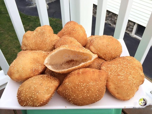 Cách Làm Bánh Tiêu Ngon Ngọt Béo Thơm Cực Hấp Dẫn - ảnh 2.