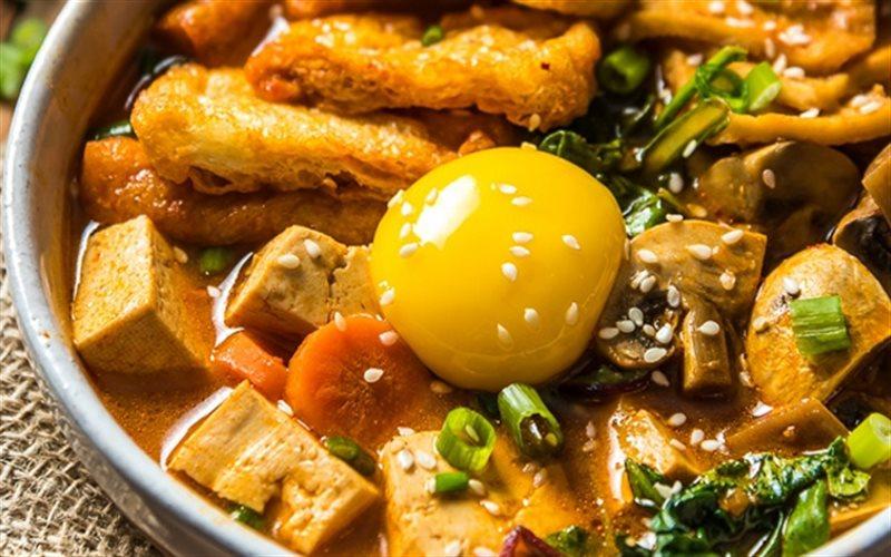 Cách Làm Canh Kim Chi Nấu Nấm Và Đậu Hũ Thơm Ngon