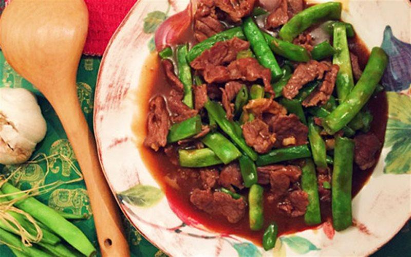 Cách Làm Thịt Bò Xào Đậu Sốt Dầu Hào Cực Ngon Cơm
