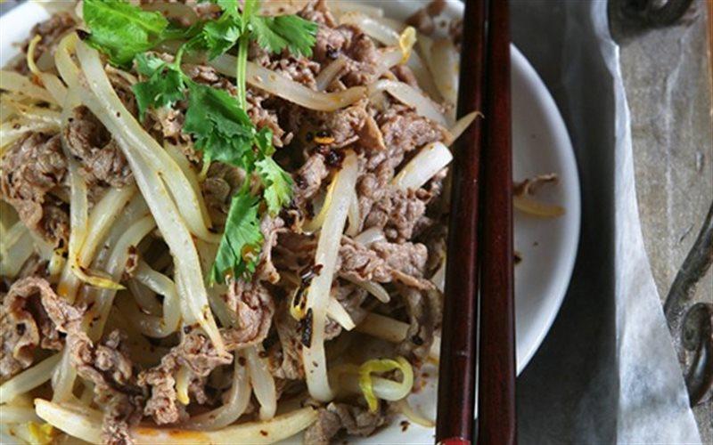Cách Làm Thịt Bò Xào Giá Đỗ Bổ Dưỡng Thanh Mát