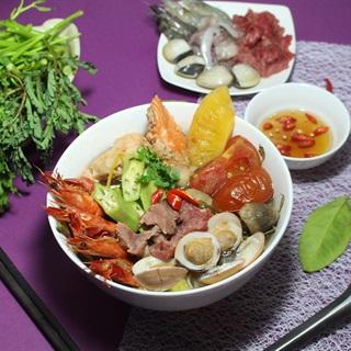 Cách Nấu Lẩu Thái Hải Sản Chua Cay