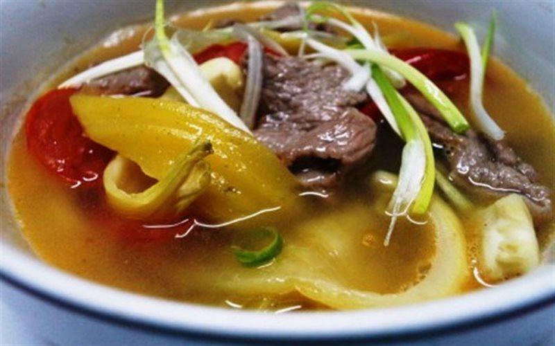 Cách Làm Canh Thịt Bò Nấu Dưa Chua Đậm Đà Đưa Cơm