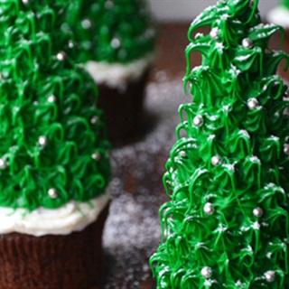 Cách Làm Cupcake Hình Cây Thông Noel Hấp Dẫn Ở Nhà