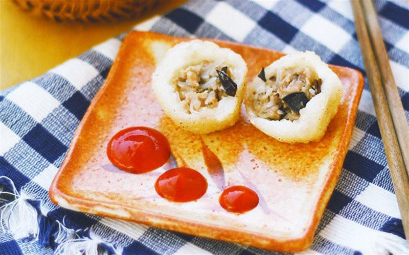 Cách Làm Bánh Rán Mặn Nhân Nấm Thịt Ngon, Thay Cơm