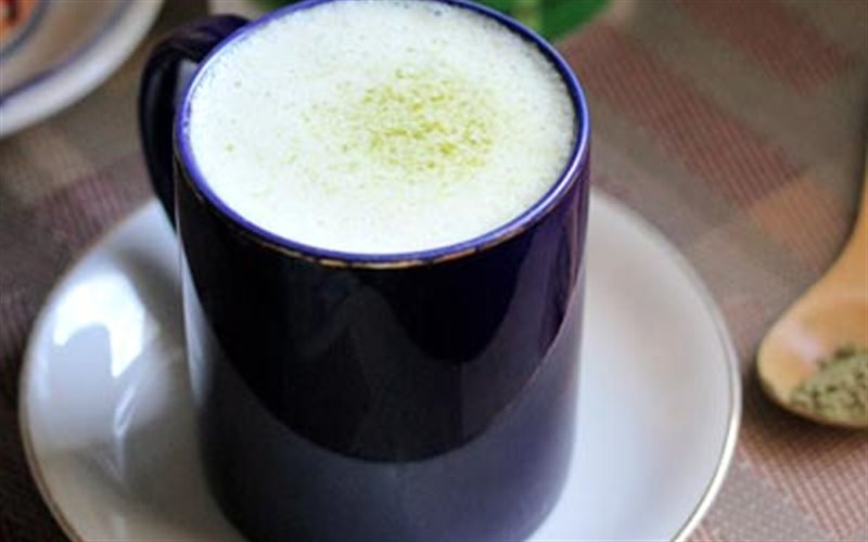 Cách làm Latte Trà Xanh thơm béo, giải nhiệt mùa hè