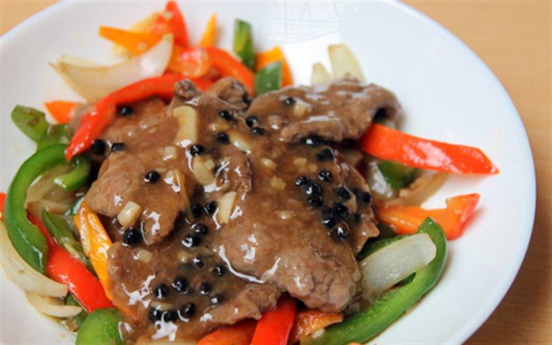 Cách Làm Bò Sốt Tiêu Đen | Ngon Không Cưỡng Nổi