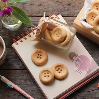 Cách làm bánh quy hình cúc áo