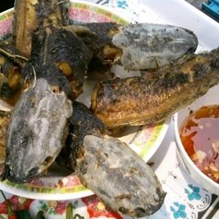 Cách làm cá trê đồng nướng lá nghệ