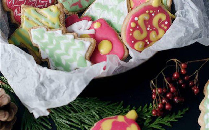 Cách làm Bánh cookie Giáng Sinh