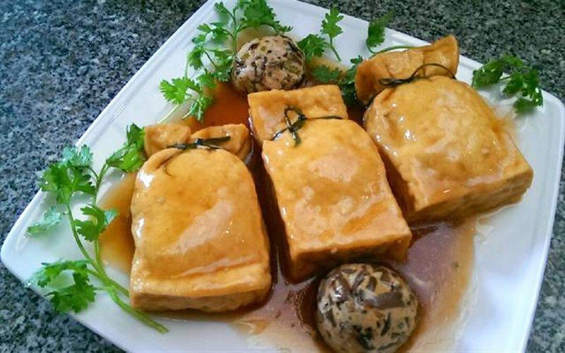 Cách làm Đậu Hũ Bao Bố Chay thơm ngon, cho ngày ăn chay