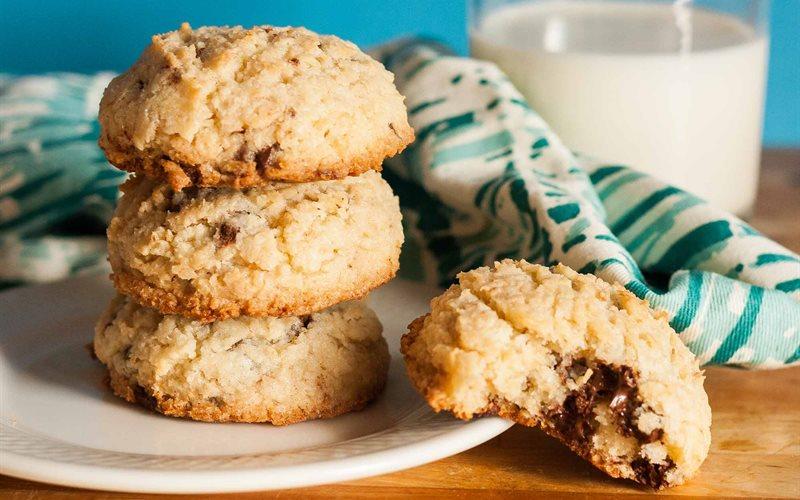 Cách làm Bánh cookies dừa chocolate
