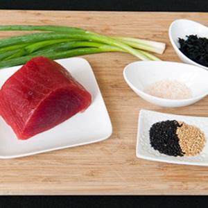Gỏi sashimi cá ngừ
