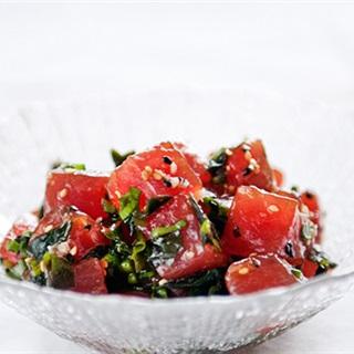 Cách Làm Gỏi Sashimi Cá Ngừ Ngon Miệng Đơn Giản
