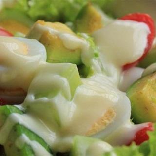 Cách Làm Salad Bơ Trứng | Đơn Giản Cùng Mayonnaise
