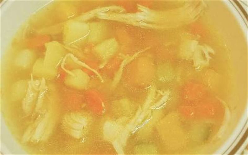 Cách nấu Súp Rau Củ Thịt Gà ngọt mát, bổ sung dinh dưỡng