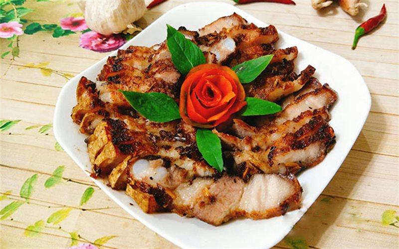 Cách Làm Thịt Ba Chỉ Nướng Sả Ớt Thơm Ngon Hấp Dẫn