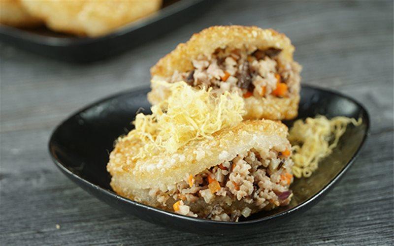 Image result for Bánh xôi chiên