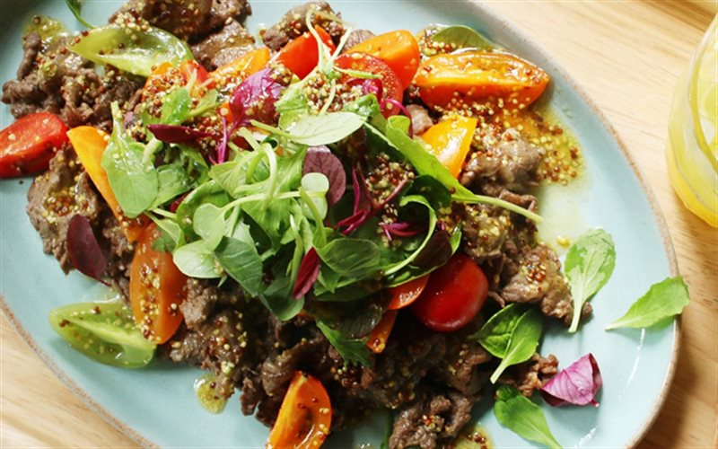 Cách Làm Salad Thịt Bò Cà Chua Đậm Vị, Cực Ngon