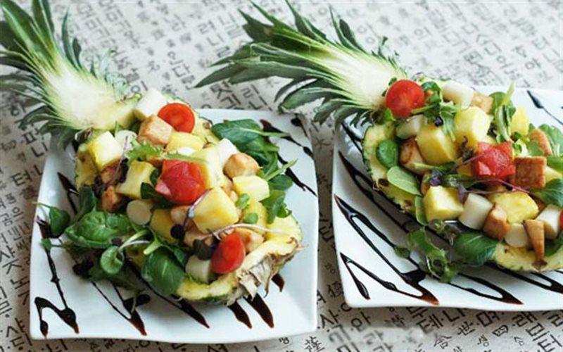 Cách Làm Salad Thơm Ức Gà Đơn Giản Thơm Ngon Ở Nhà