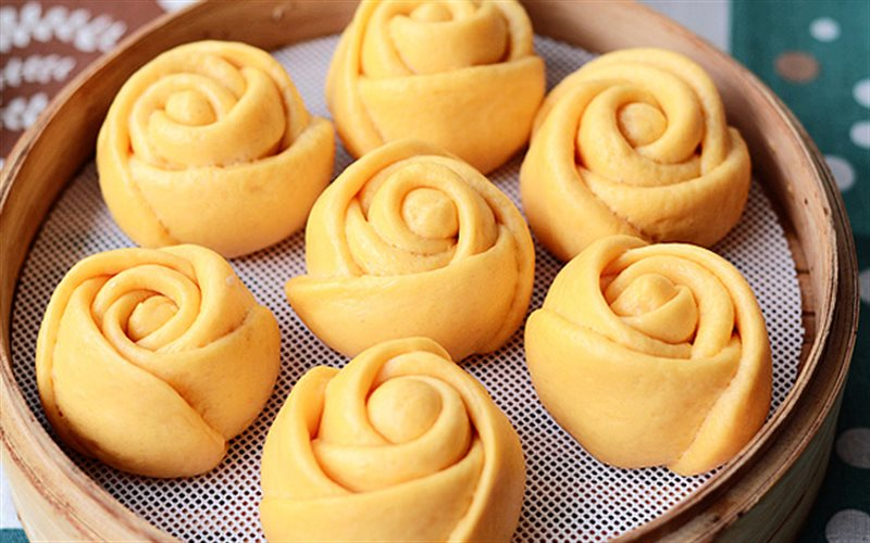 Cách Làm Bánh Bao Cà Rốt Vừa Bắt Mắt Vừa Ngon