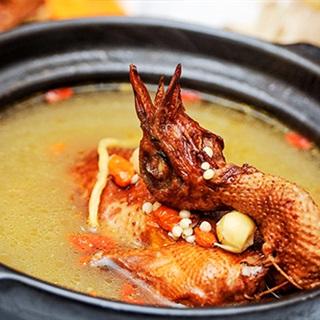 Bồ câu hầm hạt sen