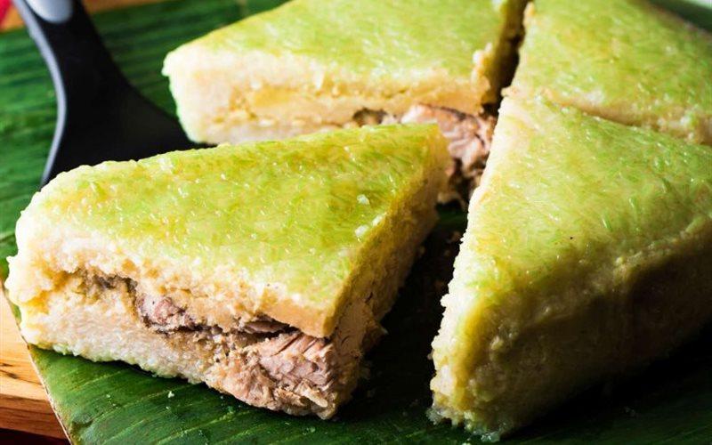 Cách làm Bánh chưng - Vietnamese square sticky rice cake