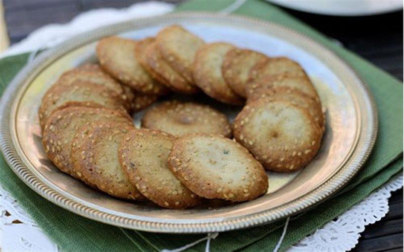 Cách Làm Bánh Quy Mè Trắng Ngon Miệng Đơn Giản