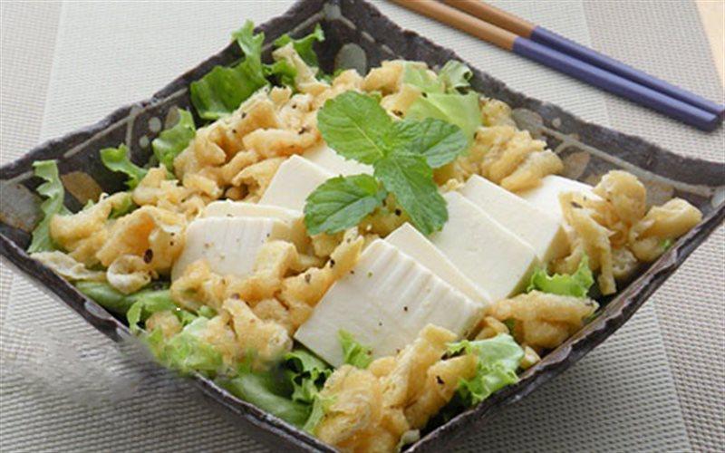 Cách Làm Salad Đậu Hũ Xà Lách Giảm Cân Đơn Giản