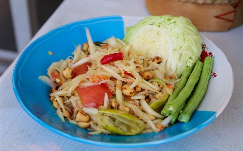 Cách làm Gỏi đu đủ Thái Lan Som Tum