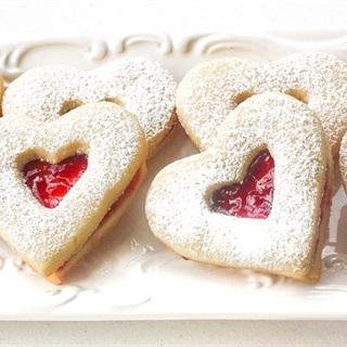 Cách làm Heart Jam Cookie