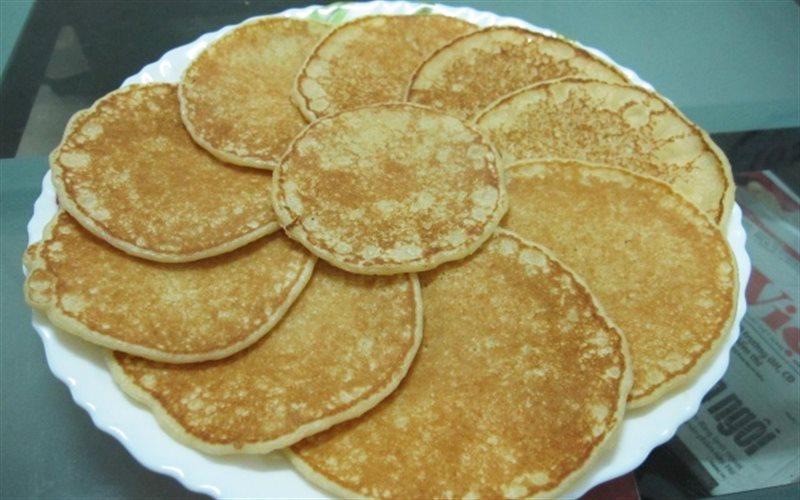 Cách làm Bánh Pancakes với sữa tươi béo ngậy cho cả nhà